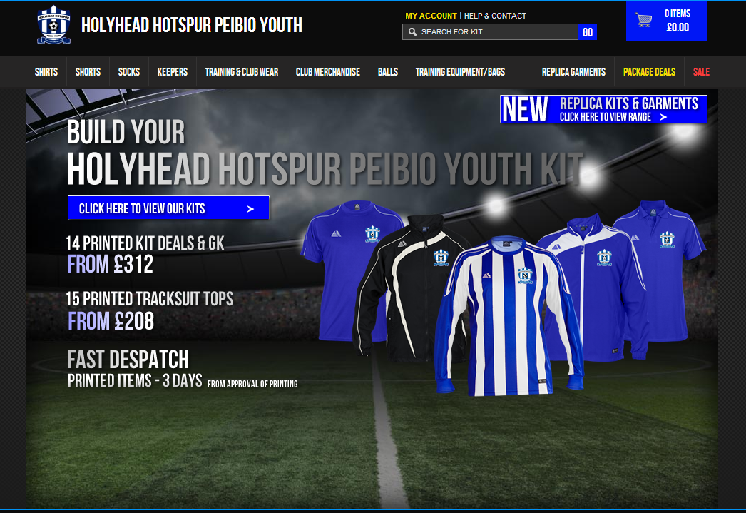 New club shop - Pendle Sports